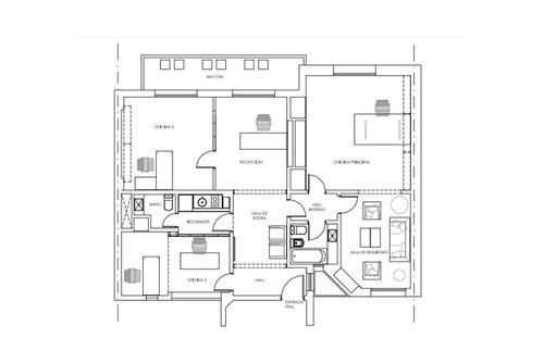 venta oficina/departamento en microcentro