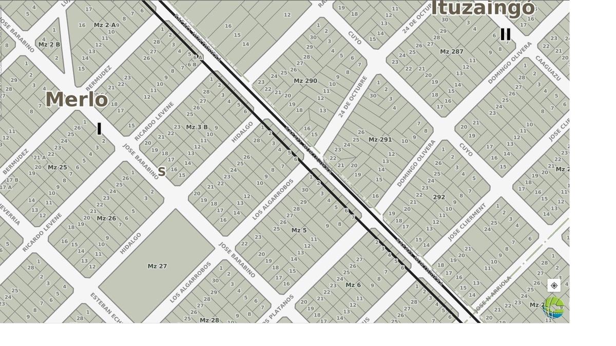 venta - padua sur - terreno 300 mts2 - us$69.000