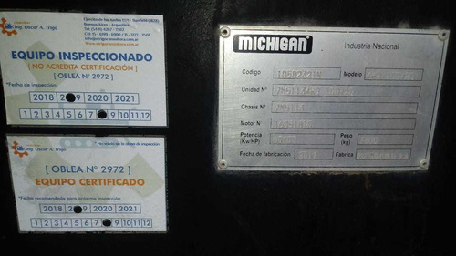 venta pala frontal y retro michigan 100/20 4wd - 10582321