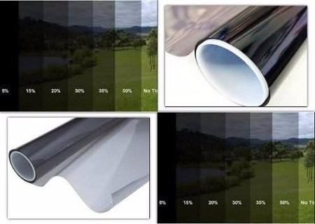 venta papel polarizado por metro auto casa variedad de tonos