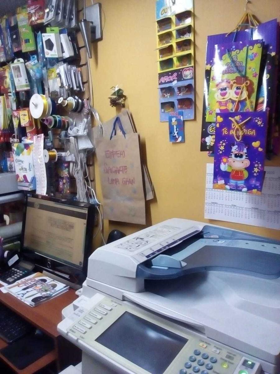 venta papelería miscelanea e internet para trasladar