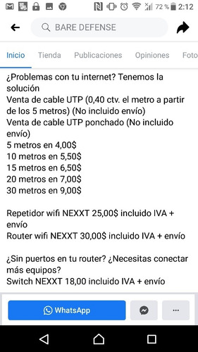 venta patch cord,  repetidores,router