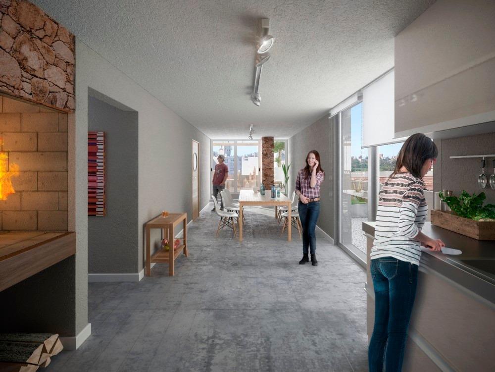 venta penthouse pocitos 2 dormitorios
