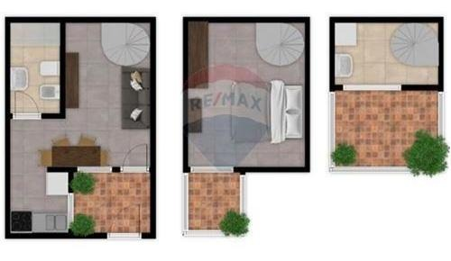 venta ph 2 amb patio y terraza barracas,