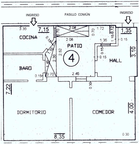 venta ph 3 ambientes c/azotea (belgrano) 105m2 mbr
