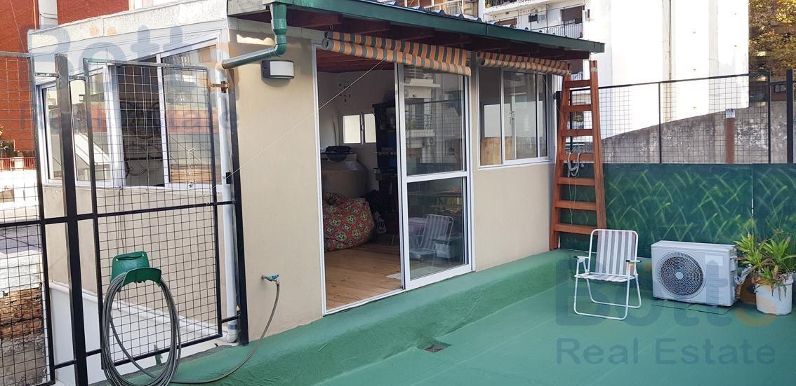 venta ph amplia terraza de 35 m2 sin expensas en villa crespo