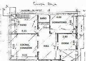venta: ph de 3 ambientes en planta baja