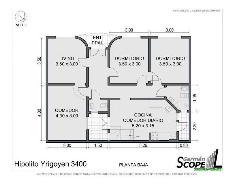 venta ph departamento 6y1/2 o 7 ambientes almagro