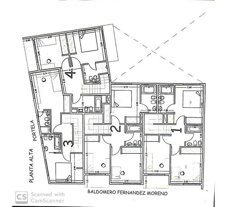 venta ph duplex tipo casa a estrenar 3 amb c/tza.