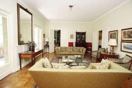 venta piso 8 ambientes recoleta. 301 m2 impecable estado