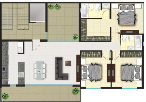 venta piso de 4 ambientes mataderos