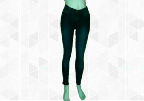 venta por mayor, 6 jeans de mujer chupin tiro alto