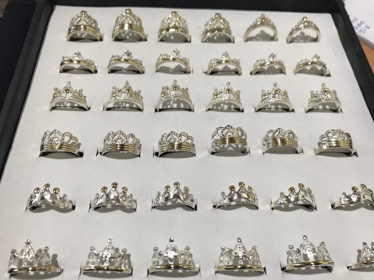 8cc5d66510a8 venta por mayor anillos coronas plata y oro. Cargando zoom.