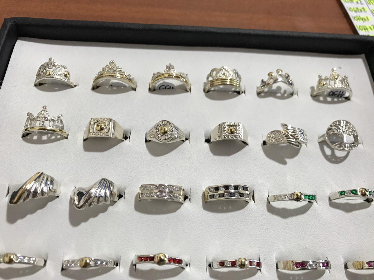 8019f2f6ad37 venta por mayor joyas anillos plata 925 y oro premium. Cargando zoom.