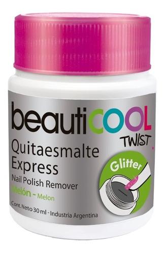 venta por unidad - quitaesmalte express glitter