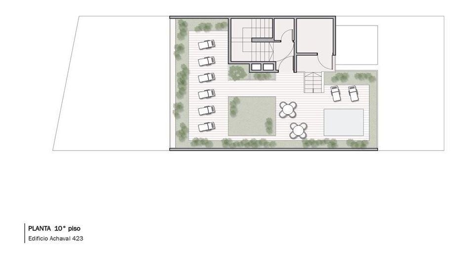 venta pozo departamento 3 ambientes 7piso c/frente