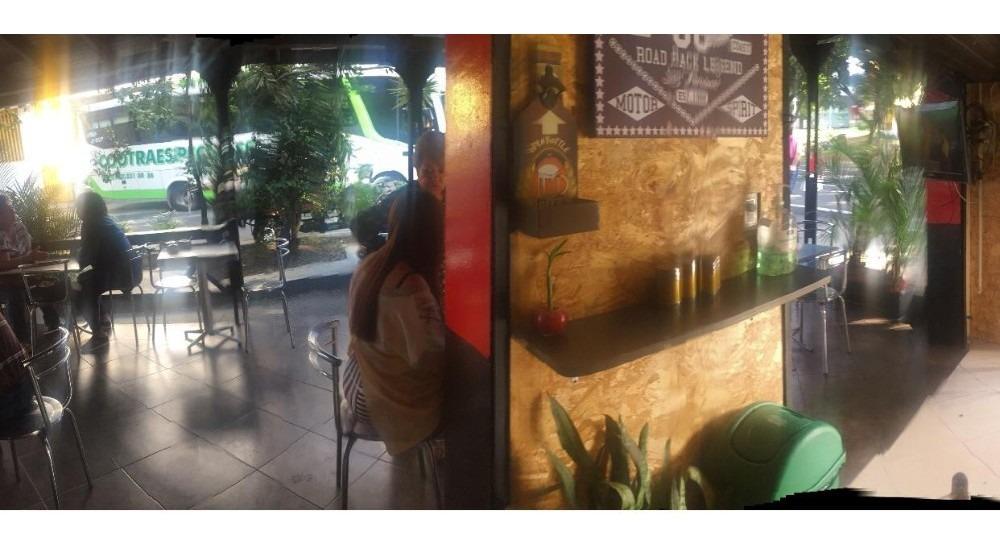 venta prima de restaurante bar remodelado exterior/interior