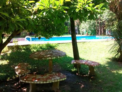 venta quinta con piscina y cancha de futbol
