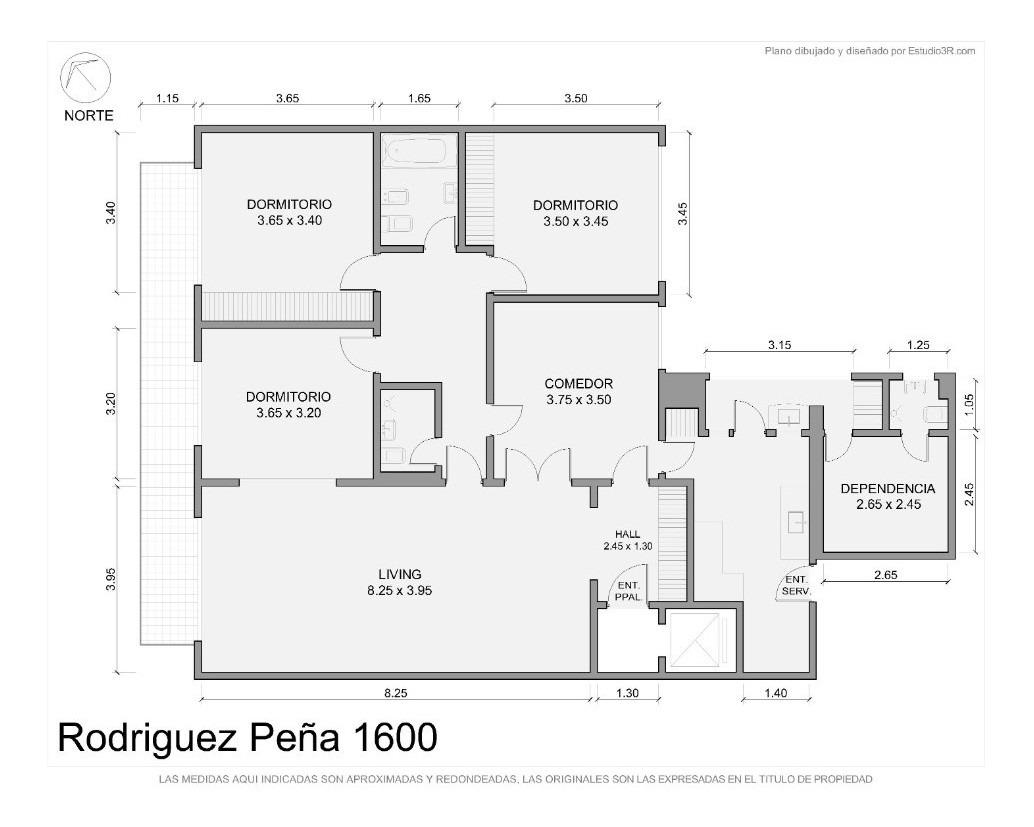 venta recoleta 4 ambientes 3 dormitorios con dependencia