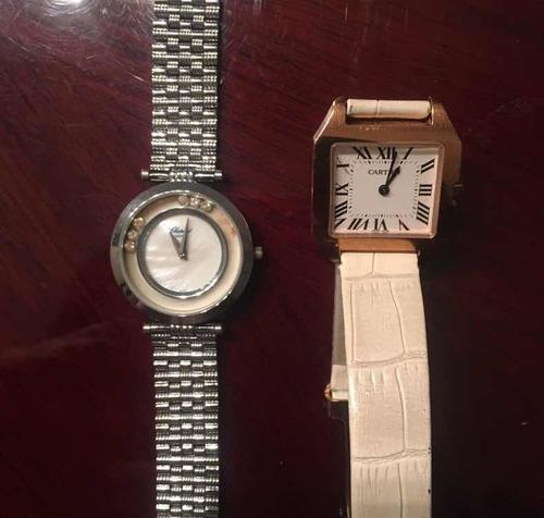 venta reloj marca chopard y cartier usados