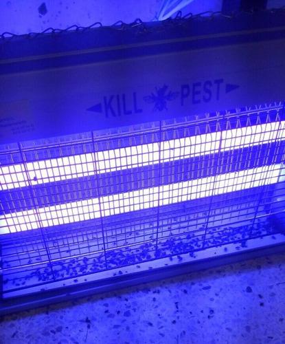 venta reparación lámparas matamoscas tubos fluorescentes