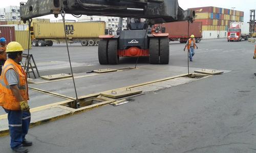 venta reparación y calibración de balanzas de camiones