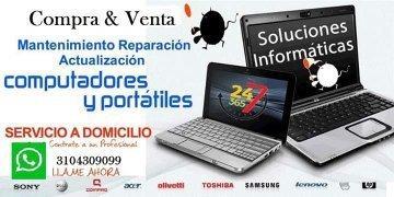 venta, reparación y mantenimiento de computadoras