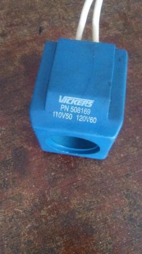 venta repuestos de electrovalvulas vickers. bobinas