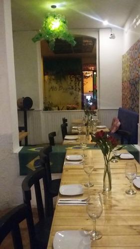venta restaurante acreditado 8 años y cesión local