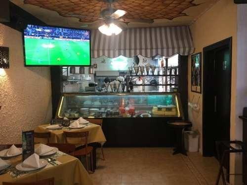 venta restaurante y local comercial, colonia narvarte
