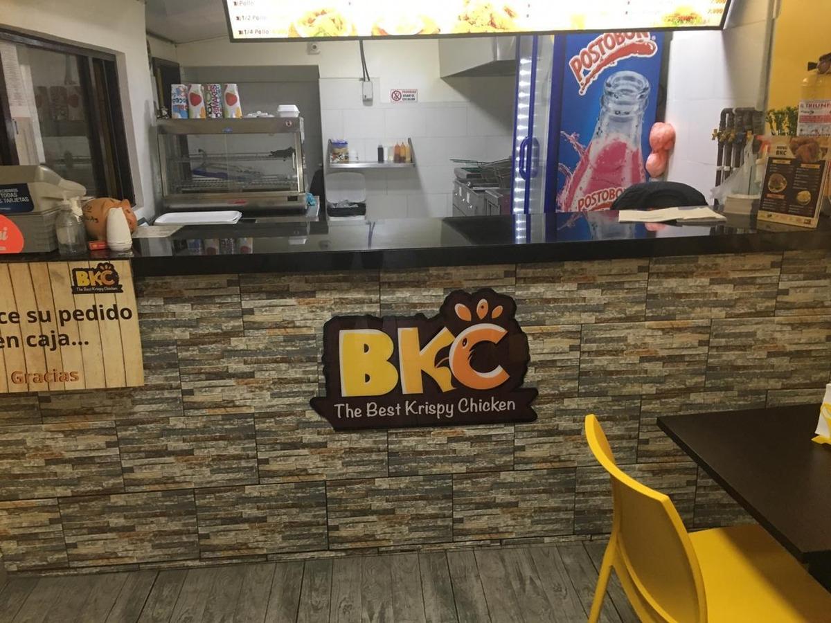 venta restaurante y marca pollo apanado -  bkc