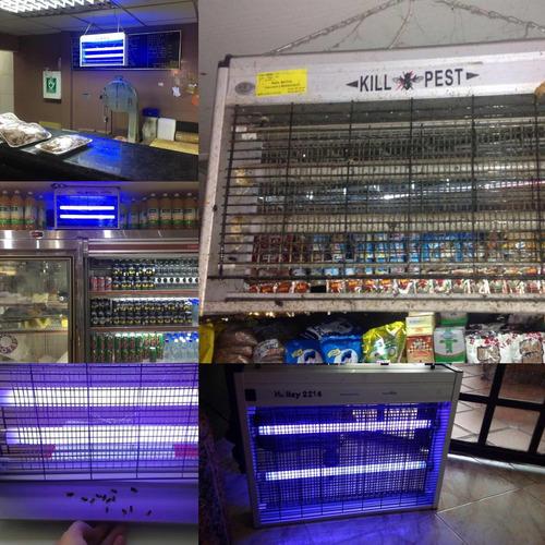 venta , revision y repuesto fluorescentes lámparas matamosca