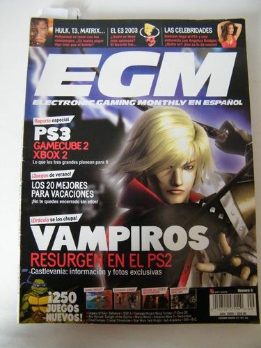 venta revistas videojuegos egm años 2, 2003 2005 y 2007