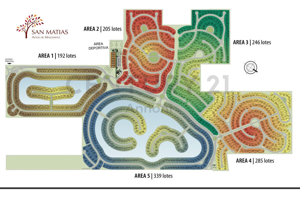 venta san matias lote perimetral en area 3