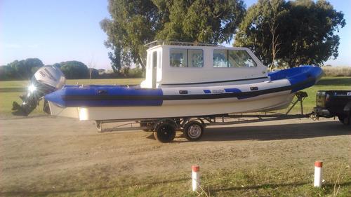 venta semirrigido cabinado baader semitrack 8 60