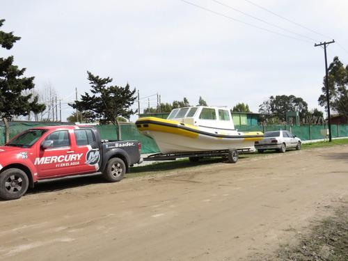 venta semirrigido cabinado baader semitrack 8 60 transporte
