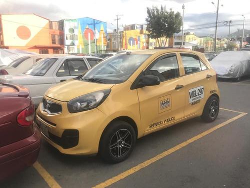 venta taxi kia picanto - excelente estado