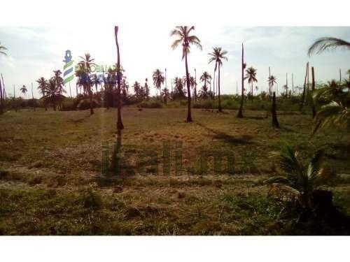 venta terreno 10,000 m² frente a la playa de tuxpan veracruz . venta de terreno con hermosa vista al mar, ubicación exclusiva entre tamiahua y tuxpan, cuenta con 54.15 metros del lado del mar, 200 me