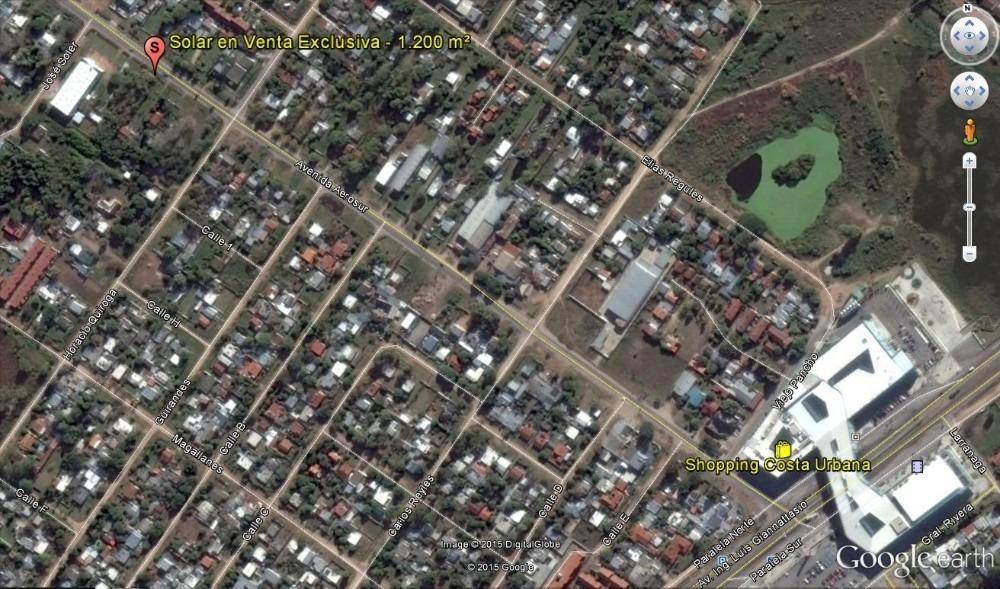 venta terreno 1.200 m2 san jose de carrasco