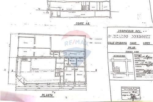 venta terreno 1300 mts. inversion centro pilar