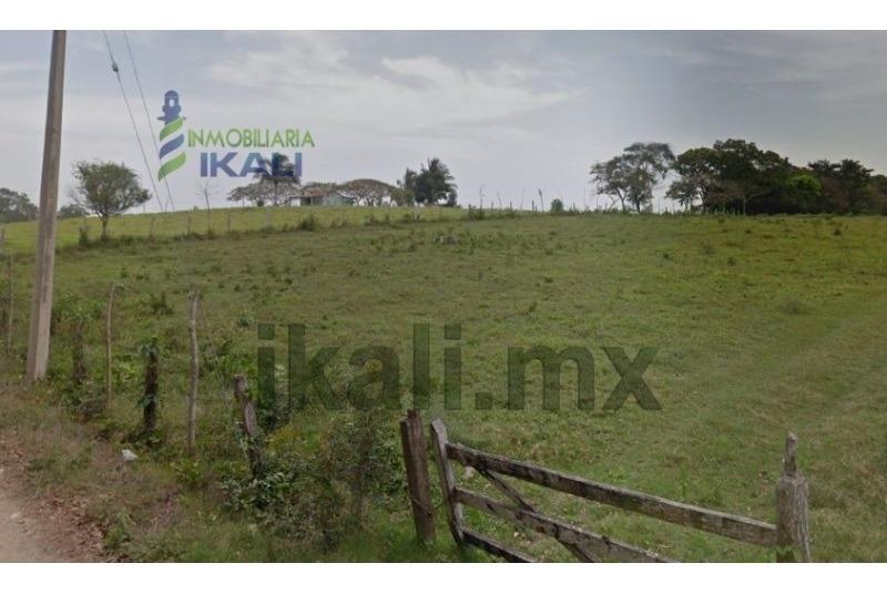 venta terreno 14.28 has ejido el angosto tuxpan veracruz. ubicado en la carretera tuxpan-tamiahua, son dos propiedades juntas con una superficie útil de 142819 m², el terreno es ejido y cuenta con do