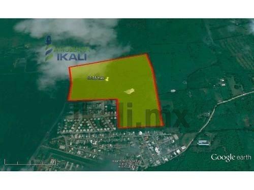 venta terreno 17 hectáreas salida tamiahua tuxpan veracruz. 230 metros en la carretera tuxpan-tamiahua a un costado en la unidad habitacional de la marina, pasando el reclusorio, por la zona hay todo