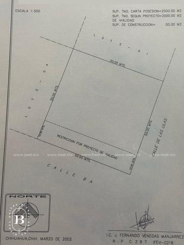 venta terreno 2500m2 al sur de la ciudad - negociable-