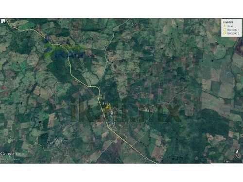 venta terreno 3 hectáreas en lindero a bordo de la carretera tuxpan-tampico. con un frente de 148.30 metros y de fondo 258.45 m². antes del entronque a chalahuite, la zona cuenta con los servicios pú