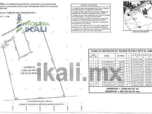 venta terreno 358 hectáreas en la zona industrial de tuxpan veracruz, se encuentran ubicadas en la zona industrial entrando por el libramiento portuario a 1.3 kms, por la parte de atrás de las esfera