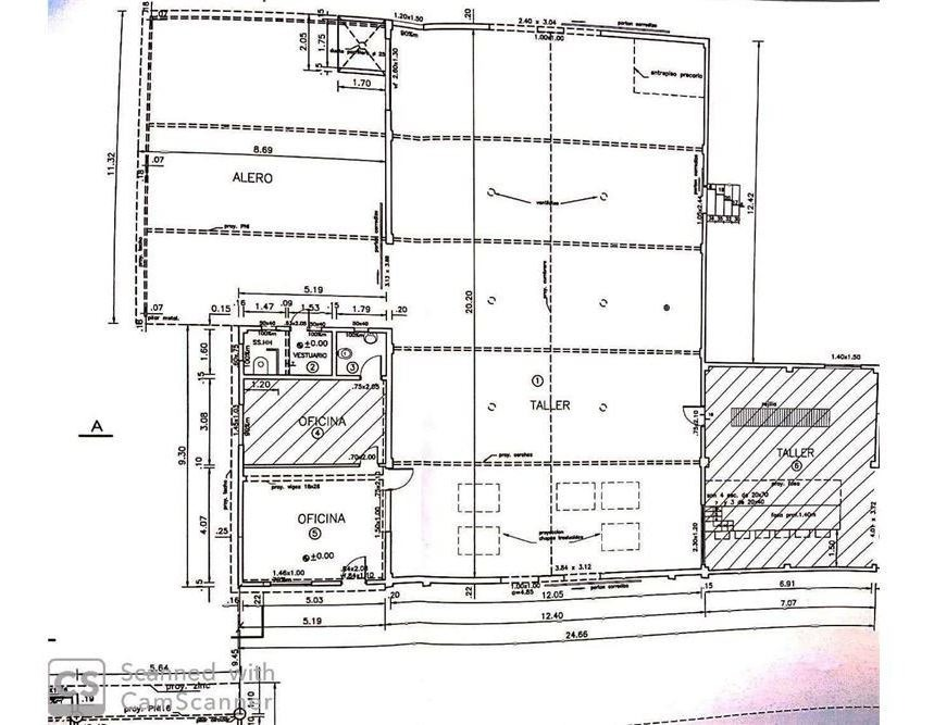 venta terreno 4800 m2 con galpón las piedras
