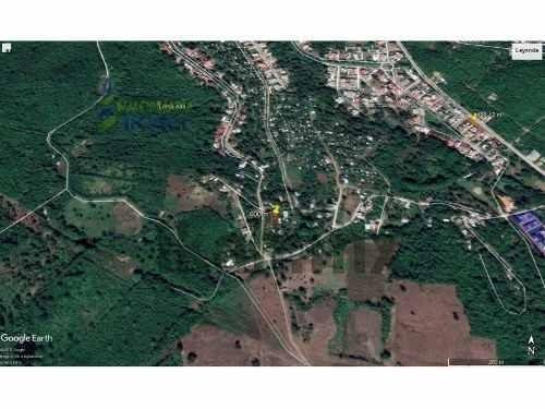 venta terreno 600 m² escolin de olarte coatzintla veracruz. ubicado en la calle benito juarez m 17. entrando por la col. loma bonita del interior del campo de pemex. se encuentra a 15 minutos del cen