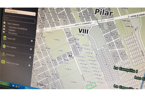 .venta terreno 6.275 m2 en pilar proximo a ruta 8- pilar