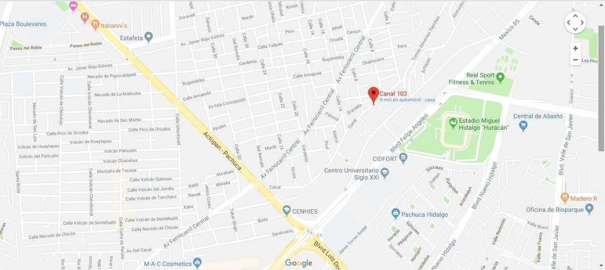venta terreno a 3 minutos de cenhies en santa julia pachuca