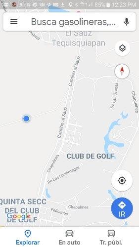 venta terreno alta plusvalía entrada club de golf tequisquiá
